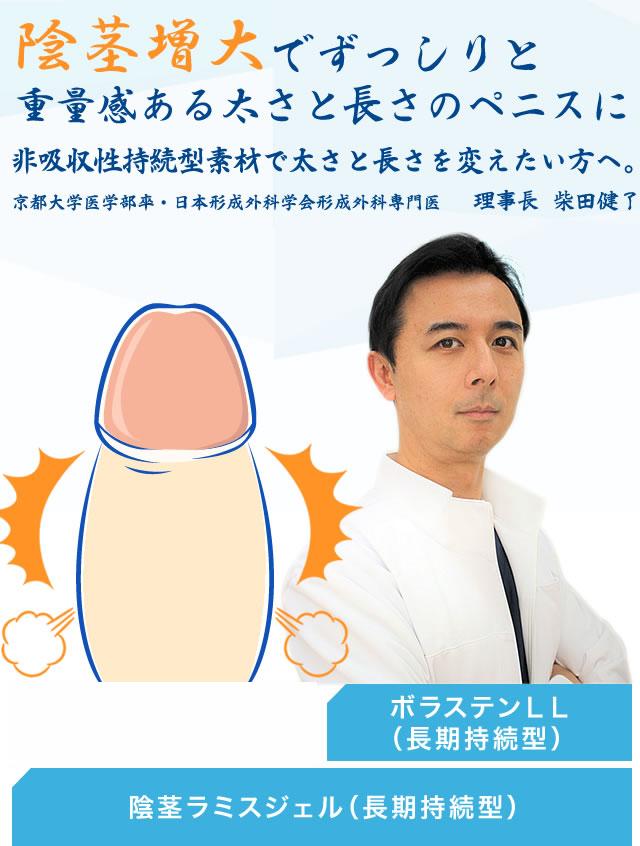 ニス 費用 手術 ぺ 増大 陰茎のパワーアップとサイズアップ 陰茎増大術|恵聖会クリニック|大阪の美容外科・美容皮膚科